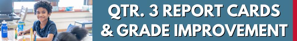 Quarter 3 Report Cards and Grade Improvement