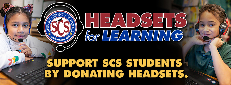 Support SCS Students by Donating Headsets for Learning banner