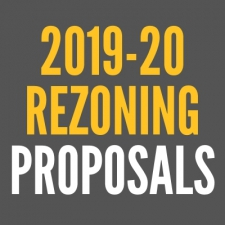 2019-20 REZONING: Following Community Input, Board to Discuss & Vote on 10 Rezoning Proposals this Month